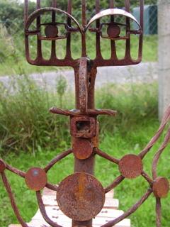 D coration de jardin sculpture musicale totem percussion - Sculpture metal jardin ...