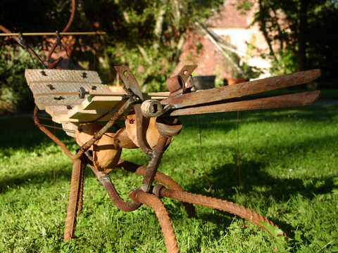 D coration de jardin art d co sculpture musicale for Art deco jardin