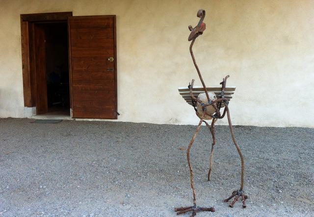D coration de jardin art d co sculpture musicale forme for Jardin singulier 2015
