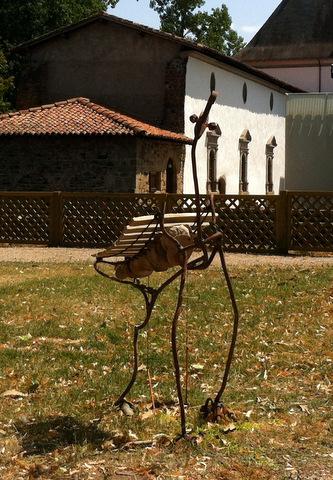 D coration jardin instrument de musique g ants de plein air for Jardin singulier 2015
