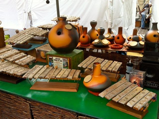 Populaire Présentation percussion udu drum et sculpture sonore EI51