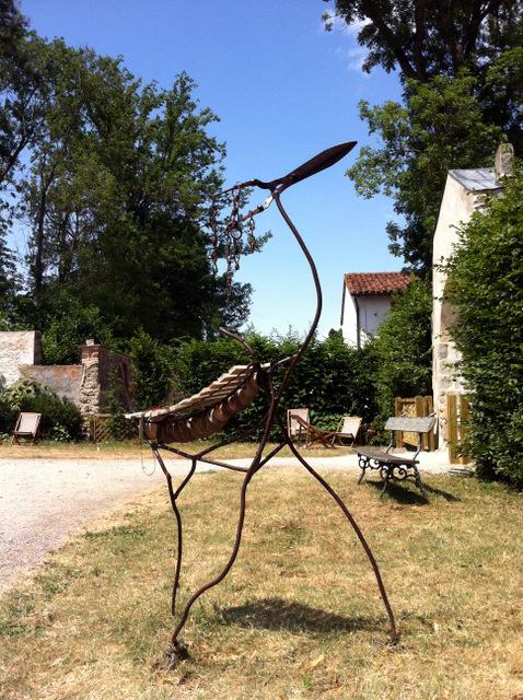 d coration de jardin sculpture musicale d 39 ext rieur forme animal. Black Bedroom Furniture Sets. Home Design Ideas